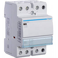 Контактор ESC340 40А, 3НО, 230В модульний Hager