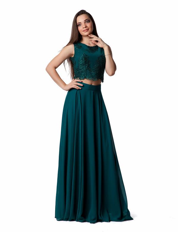 Сукня жіноча зелена вечірня ENIGMA MKENG2081