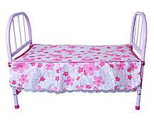 Кровать для куклы, металеве (RONG LONG)