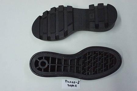 Подошва для обуви женская Пилар-2 чорна р.36-41, фото 2