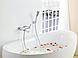 Смеситель для ванной MODERN Излив, как переключающий клапан, фото 2