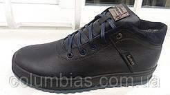 Кожаные зимние ботинки ECCO