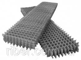 Сетка сварная 100х100х4м эконом карта 1х2м, фото 2