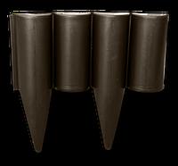 Бордюр палисад PALGARDEN коричневый - 2,5 м