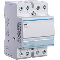 Контактор ESC441 40А, 4НЗ, 230В модульний Hager