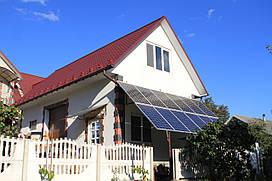 Гибридная солнечная электростанция 3.2 кВт