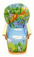 Чехол на стульчик для кормления хлопок Bambi Chicco Capella X 2512-2 new