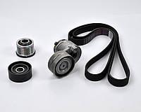 Комплект ролики + ремень генератора на Renault Master II 98->2010, 1.9dCi - Renault (Оригинал) - 117208353R