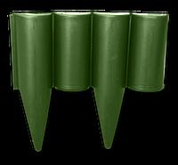 Бордюр палисад PALGARDEN зеленый - 2,5 м