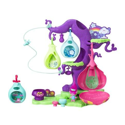 Игровой набор Волшебное дерево троллей DreamWorks Trolls POD' ular Troll Tree Playset