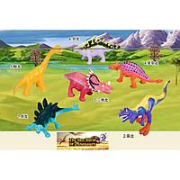 Животные 8882 динозавры 6 видов, в пакете 13*13*5см