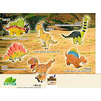 Животные 8884 динозавры 6 видов, в пакете 26*15*5см