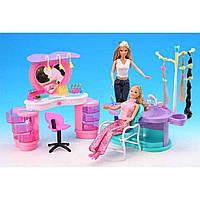 """Мебель для куклы """"Gloria"""" 2509  парикмахерская, в кор. 64.5*51.5*38шт"""