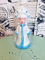 Снегурочка новогодняя игрушка 24см
