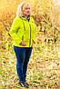 Женская весенняя куртка большого размера