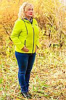 Женская весенняя куртка большого размера, фото 1