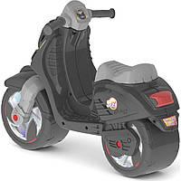 Скутер двухколёсный, арт. 502_Ч, Черный