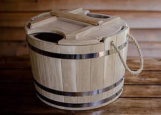 Запарник для веников дубовый 35 литров