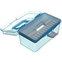 Кейс для маникюрных инструментов, пластиковый (Маленький)