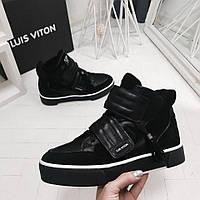 Ботинки на шнурке с липучкой Luis V.Натуральная кожа/замша