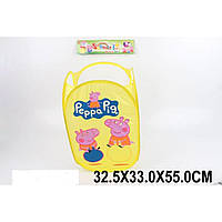 Корзина для игрушек 668-19D   32,5*33*55 см