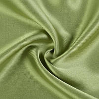 606447491 - Вискоза с органзой зеленая, ш.150