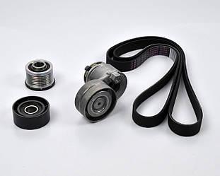 Комплект ролики + ремінь генератора на Renault Trafic II 01->2006, 1.9 dCi - Renault (Оригінал) - 117208353R