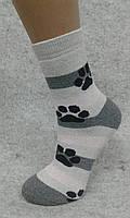 Детский носок, полный плюш, Зима, хлопок, Лапки