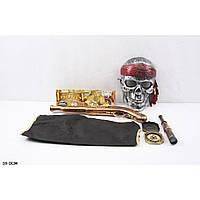 Пиратский набор ZP3537  мушкет, компас, подз.труба, маска, в пакете 39см