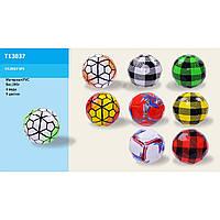 Мяч футбол T13037  PVC, 280г