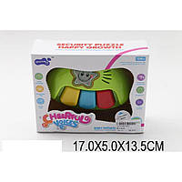 Муз.игрушка для малышей 892  батар,на планшете 17*5*13,5см