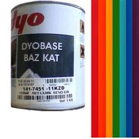 Автоэмаль DYO металлик, базовая эмаль.
