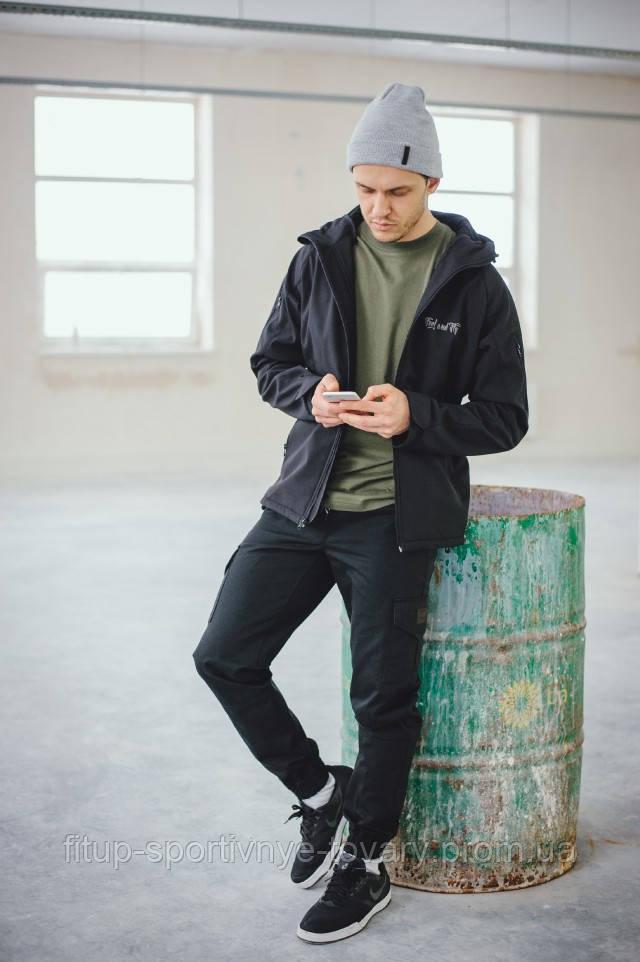 Куртка мужская Feel&Fly PRADO BLACK KD-1501