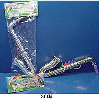Саксофон 3004-C   в пакете 36см