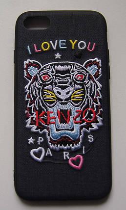 "Плаcтиковый чехол для iPhone 7 / 8 ""I love you kenzo"" Black, фото 2"