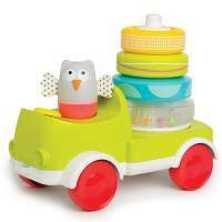 Развивающая игрушка Taf Toys Совушка-малышка с пирамидкой 2 в 1 (11945)