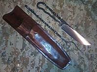 Пикниковый набор (нож + вилка) из кованой стали, фото 1