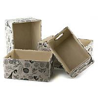 Коробки для хранения 4 шт. (39*30*19 см)