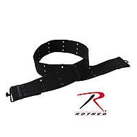 Пистолетный ремень чёрный Rothco Military Style Pistol Belts