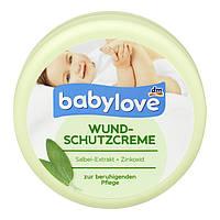 Детский крем Babylove Wundschutzcreme для защиты кожи в области пеленания, 150 мл