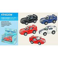 "Машина металл ""KINSMART"" KT4020W  ""DODGE VIPER GTSR"", в коробке 13*6*12см"