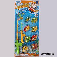 Рыбалка 336-10  2 магнит.удочки, 8 морских животных