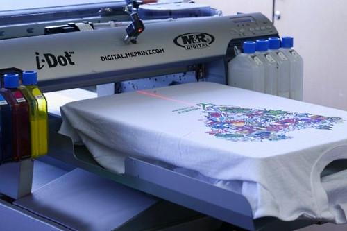 Печать на футболках от 1 штуки в Днепре