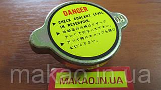 Крышка радиатора универсальная D наруж.-59,клапан-38,высота-29мм,длина захвата-14.5мм,давление 0.9 bar.