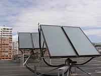 Наши обьекты с солнечными коллекторами