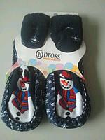"""Махровые тапочки-носки для детей """"Bross"""" 4-6 лет"""