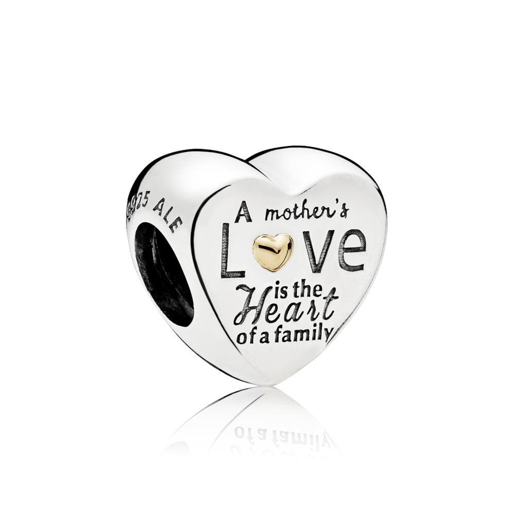 Шарм «Сердце семьи» в стиле Pandora