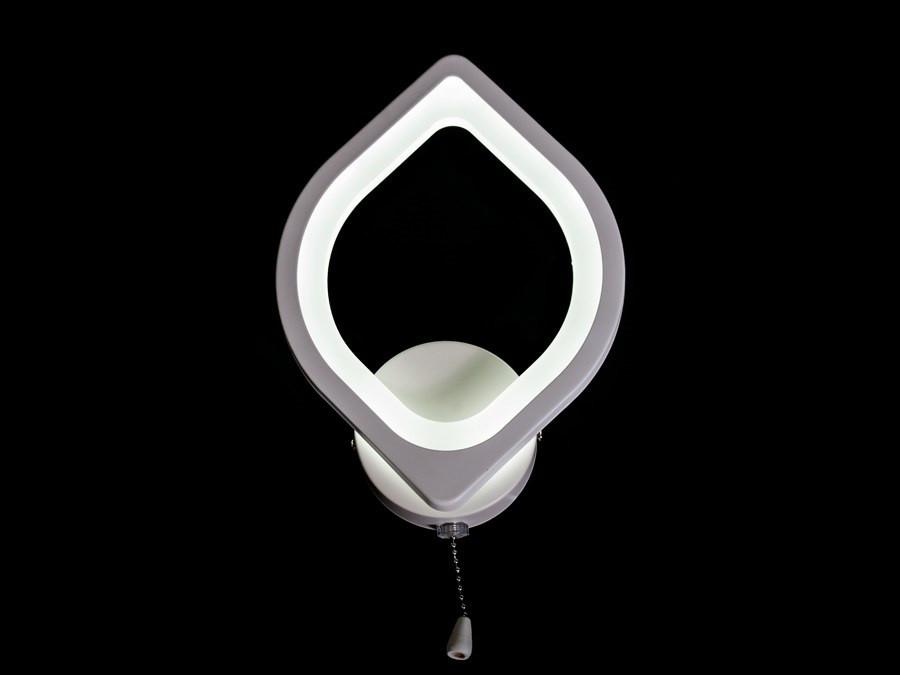 Настенный светодиодный светильник(бра) 8073/1 White 9w