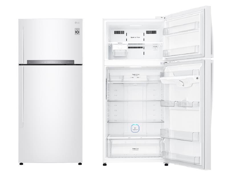 Холодильник с верхней морозилкой LG GN-H702HQHZ