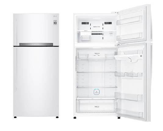 Холодильник с верхней морозилкой LG GN-H702HQHZ, фото 2